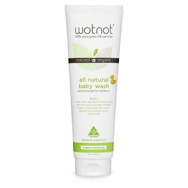 wotnot baby wash, shampoo and bubblebath