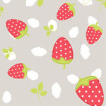 Strawberry Shortcake with Silver Contrast