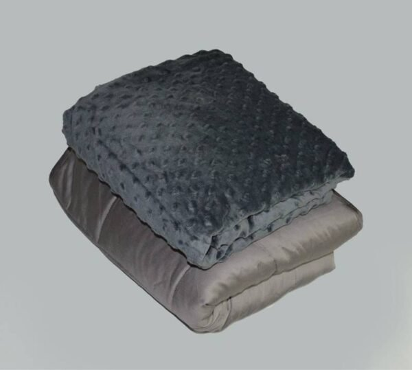 Bamboo Weighted Blanket - Sensory Minky Cover | Weighted Blanket