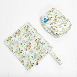 itti bitti bare essentials nappy with wetbag australia