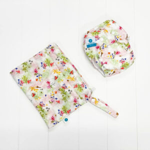itti bitti bare essentials nappy with wetbag fairy garden