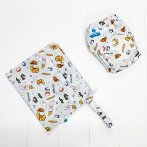 itti bitti bare essentials nappy with wetbag france