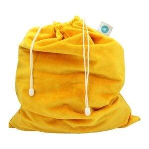 itti bitti laundry bags saffron