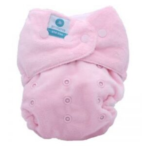 itti bitti tutto one size fits most nappy baby pink