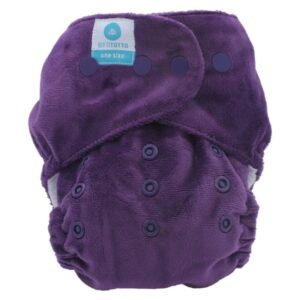 itti bitti tutto one size fits most nappy mulberry
