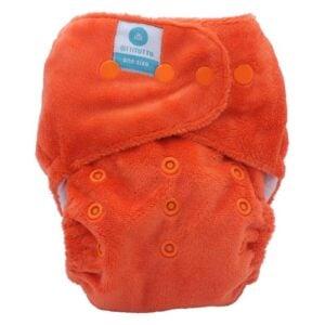 itti bitti tutto one size fits most nappy papaya