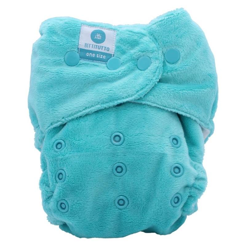 itti bitti tutto one size fits most nappy seafoam