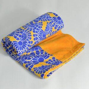 itti bitti Blanket Bella with Saffron Contrast