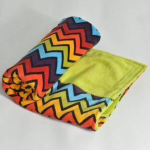 itti bitti Blanket Shazam with Wasabi Contrast