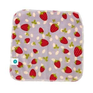 itti bitti reusable ultimate baby wipe strawberry