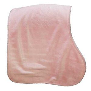 itti bitti burpy cloth baby pink