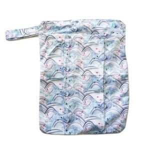 itti bitti double pocket wetbag curl