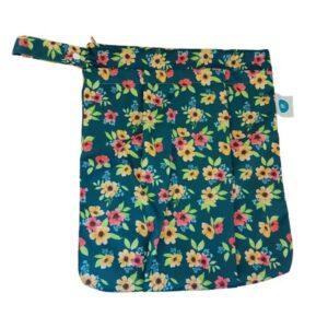 itti bitti double pocket wetbag meadow
