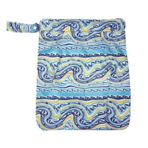 itti bitti double pocket wetbag summerwave