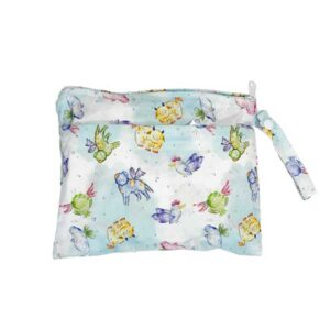 itti bitti small double pocket wetbag mystical creatures