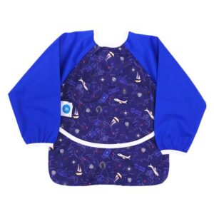itti sleeved bib smock travel