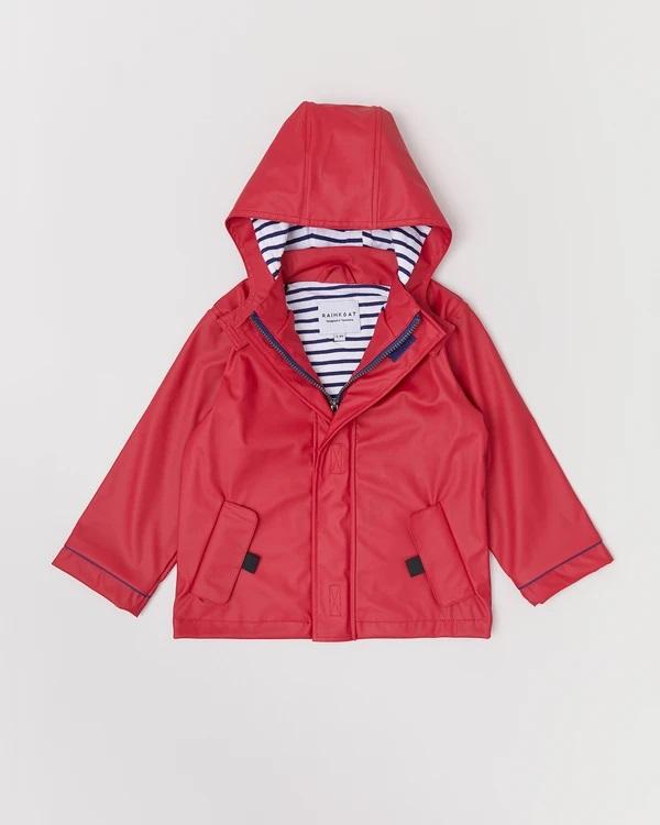 Stripy Sailor Rainkoat Jacket  